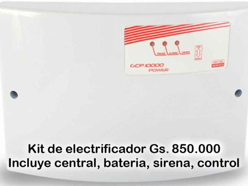 Electrificador Central para cerco electrico