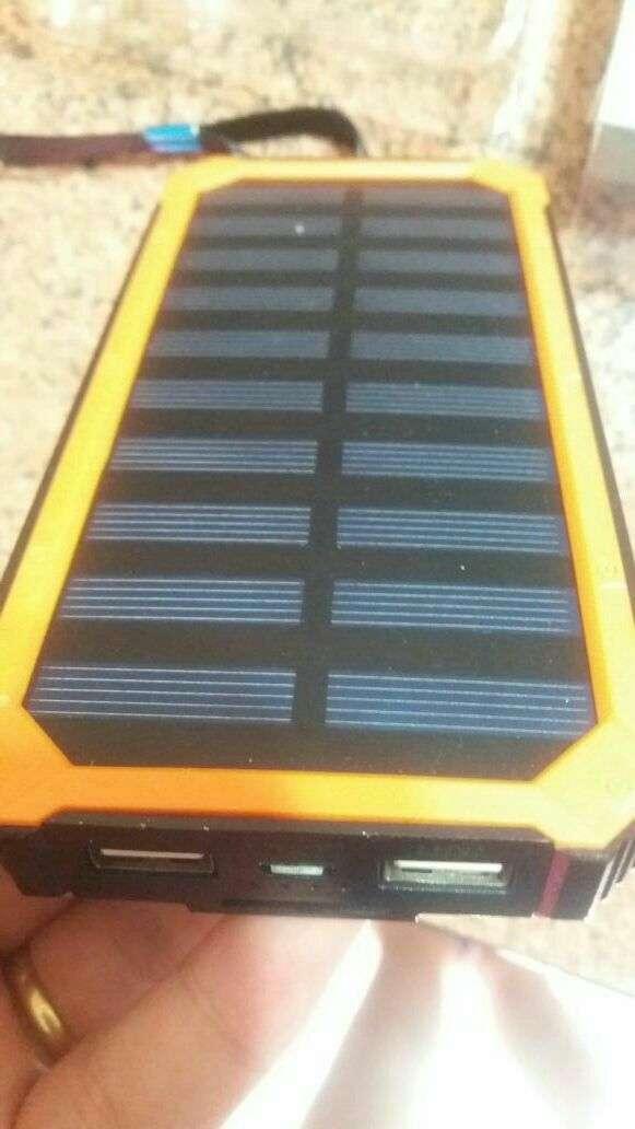 Cargador portátil solar de 20.000 mAh