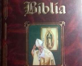 Sagrada Biblia dorada edicion especial Juan Pablo II