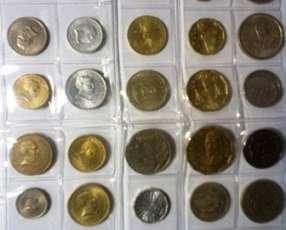 Lote de monedas de Uruguay