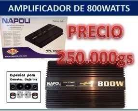 Amplificador analógico de 4 canales napoli