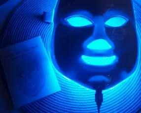Máscara led de 7 colores