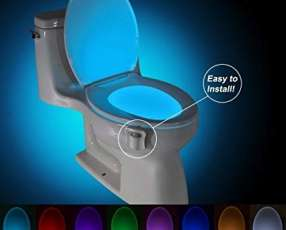 Luces led para inodoros