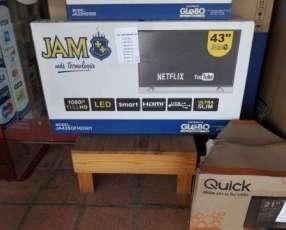 TV LED Smart de 43 pulgadas JAM
