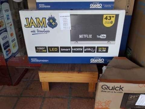 TV LED Smart de 43 pulgadas JAM - 0
