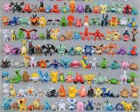 Figuras de Pokemon mini 50 piezas