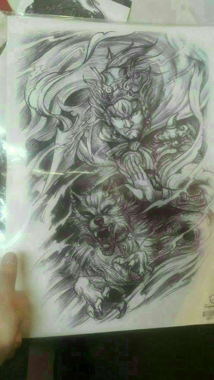 5 Tatuajes temporales espalda y manga - 1