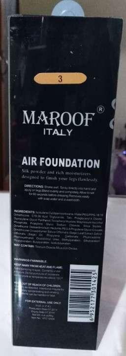 Base de maquillaje en spray para pies y las piernas - 1