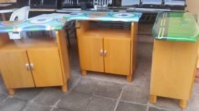 Mesa de planchar guardarropa