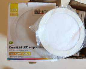 Luces led empotrable blanco