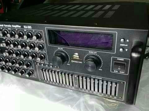 Amplificador profesional de 4 canales - 3