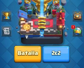 Cuenta clash of clans y royale