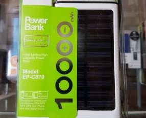 Cargador portátil de 10000 mAh solar