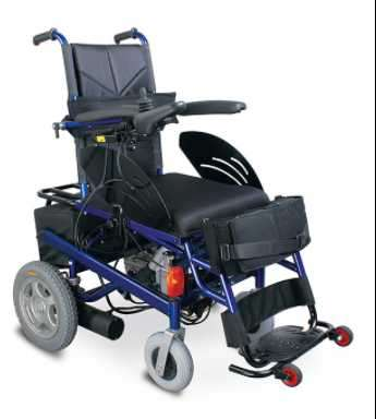 Silla de ruedas motorizada con bipedestador - 1