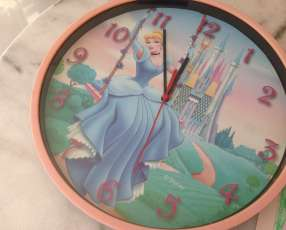 Reloj de pared de princesa