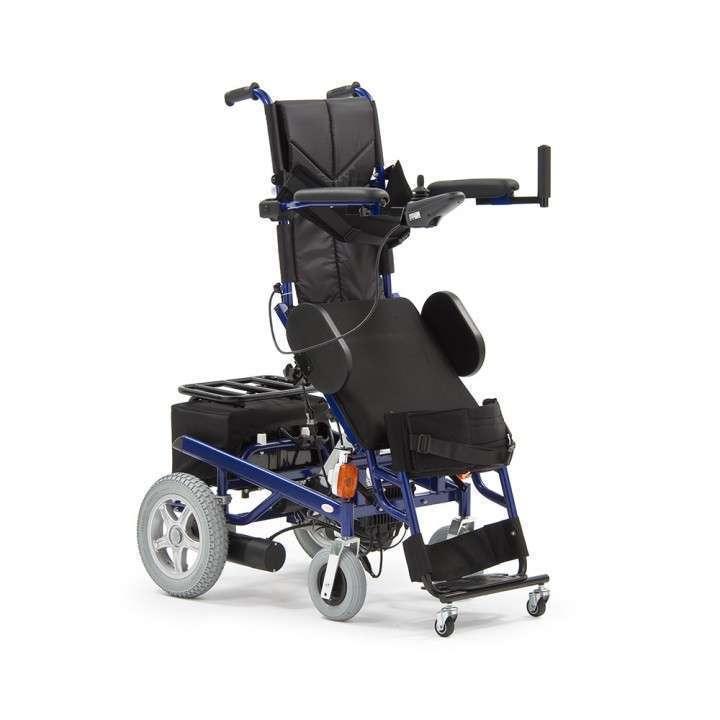 Silla de ruedas motorizada con bipedestador - 0
