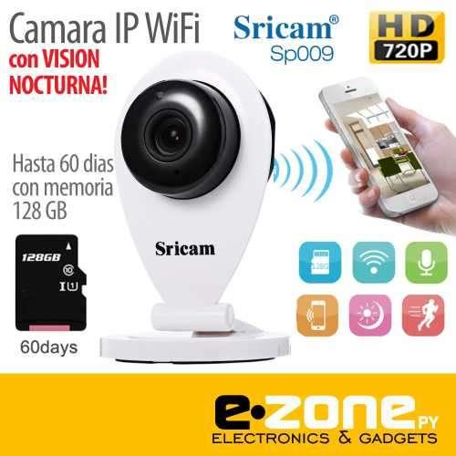 Cámara IP Wifi HD Nightvision - 0