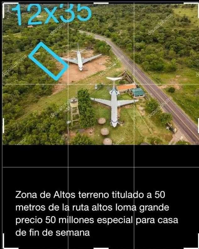 Terreno 12x35 en Loma Grande