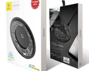 Cargador inalámbrico Qi 10W Baseus iPhone Samsung