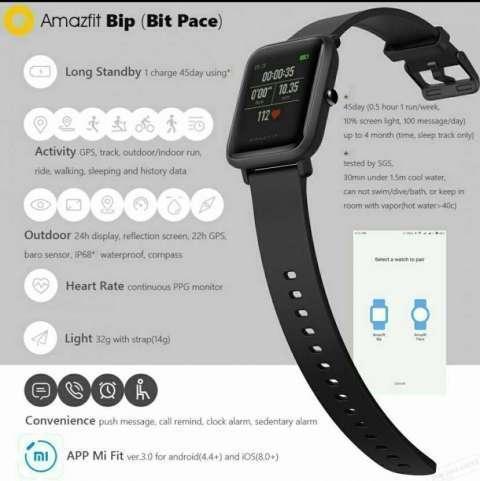 Reloj inteligente Xiaomi Amazfit Bip - 0