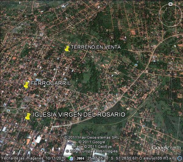 Terreno 1.777m2 a 400m de avda. rosario - 11