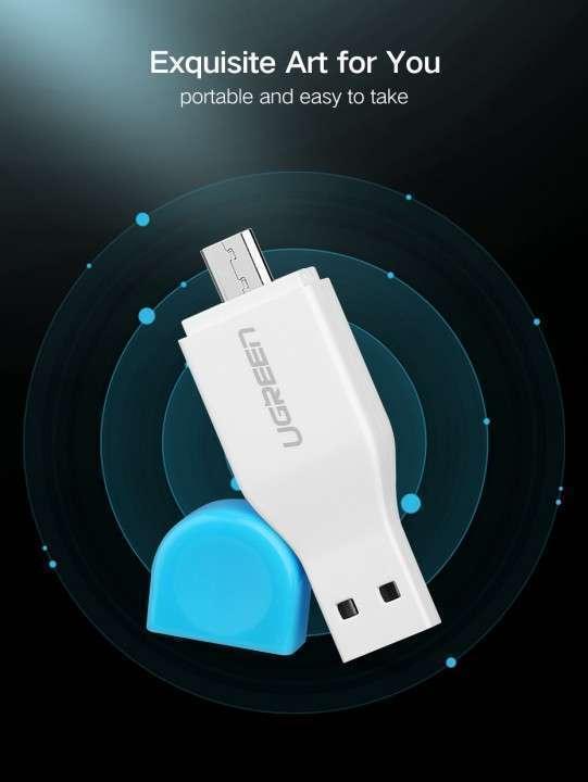 Adaptador memorias Micro SD a USB y MicroUSB - 4