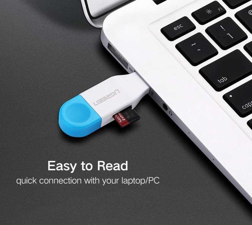 Adaptador memorias Micro SD a USB y MicroUSB - 7