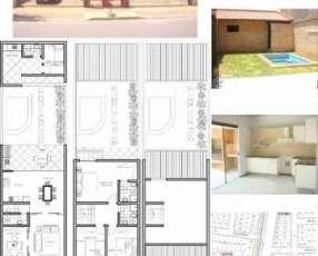 Duplex en barrio santa maria
