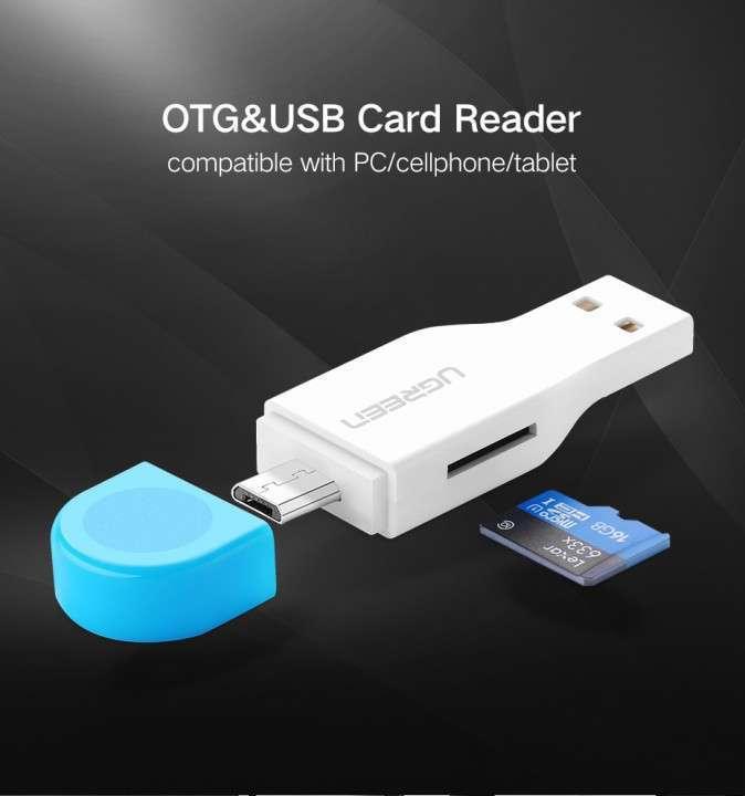 Adaptador memorias Micro SD a USB y MicroUSB - 8