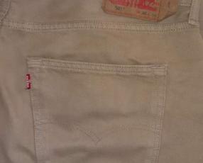 Jeans Levis original marrón khaki