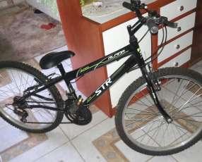 Bicicleta str alphina para 85 kg