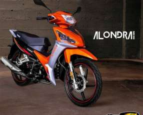 Moto Leopard Alondra financiado