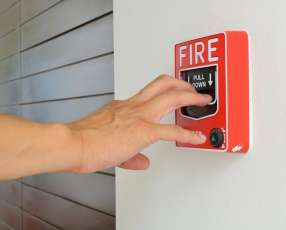 Alarma contra robo e incendio