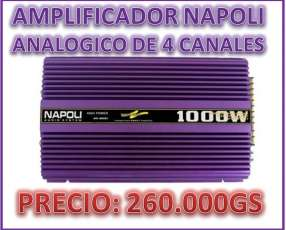 Amplificador analogico de 1000watts
