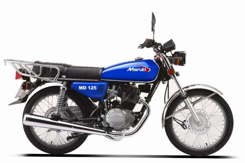 Moto Maruti 125 150 financiado