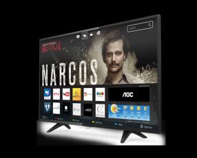Televisor smart 43 pulgadas aoc