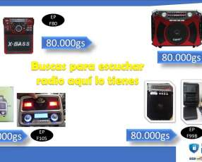 Radio portátil Ecopower