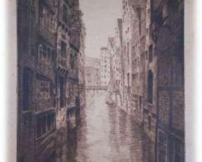 Obra de arte grabado Aguafuerte