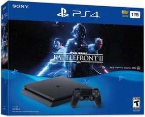 PlayStation 4 y juego Battlefront II