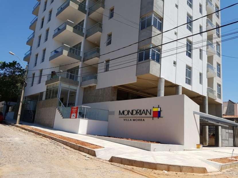 Departamento en Villa Morra 1 dormitorio balcón con parrilla cochera opcional