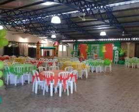 Salón de eventos climatizado en Capiatá ruta 1 km 17