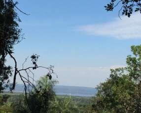 Terreno en Areguá con hermosa vista al lago