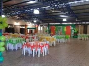 Salón de eventos climatizado en Capiatá