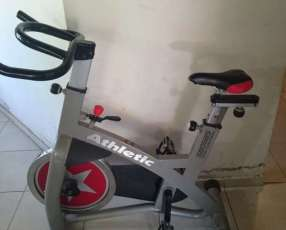 Bicicleta Spinning Profesional 5805bs Athletic 130 Kg.