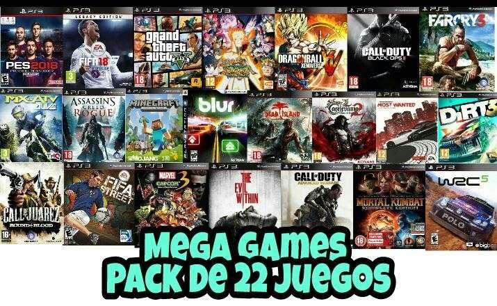 Carga de juegos para play station 3 jugables off/on line - 2
