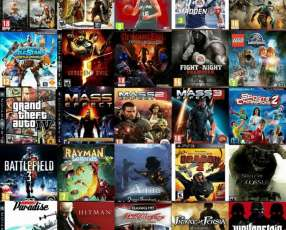 Carga de juegos para play station 3 jugables off/on line