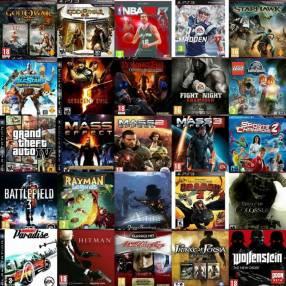 Carga de juegos para play station 3 jugables off/on line