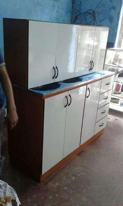 Mueble de cocina doble bacha - 1