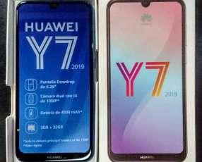 Huawei Y7 2019 de 32 gb nuevos en caja