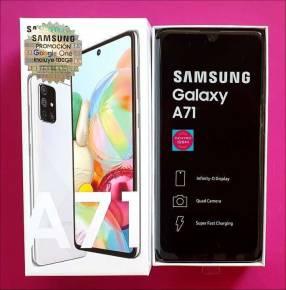 Samsung A71 de 128 gb nuevos